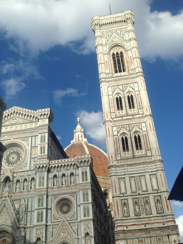 The  duomo , near my hostel