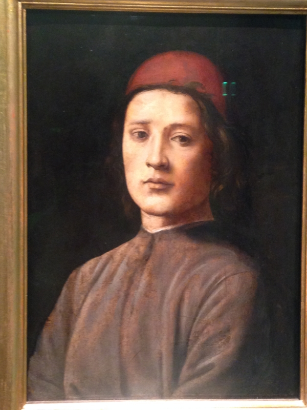 "Lorenzo di credi, ""Portrait of a Man.""  He looks so pensive and beautiful.  #swoon"