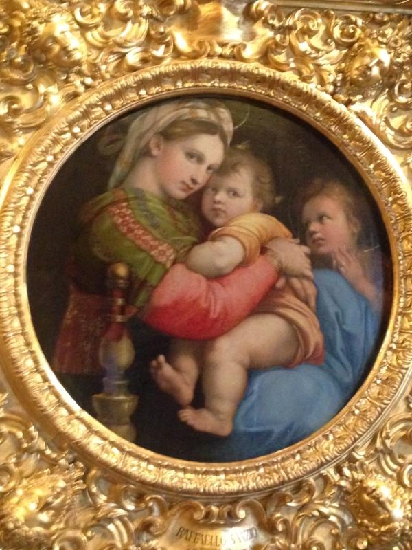 A famous Raphael painting.