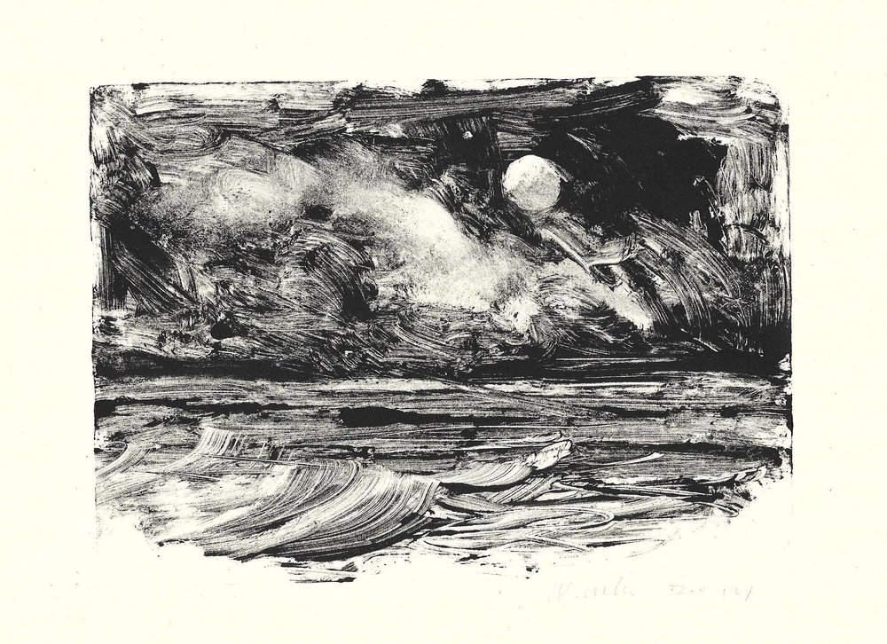 monotype by JD Wissler