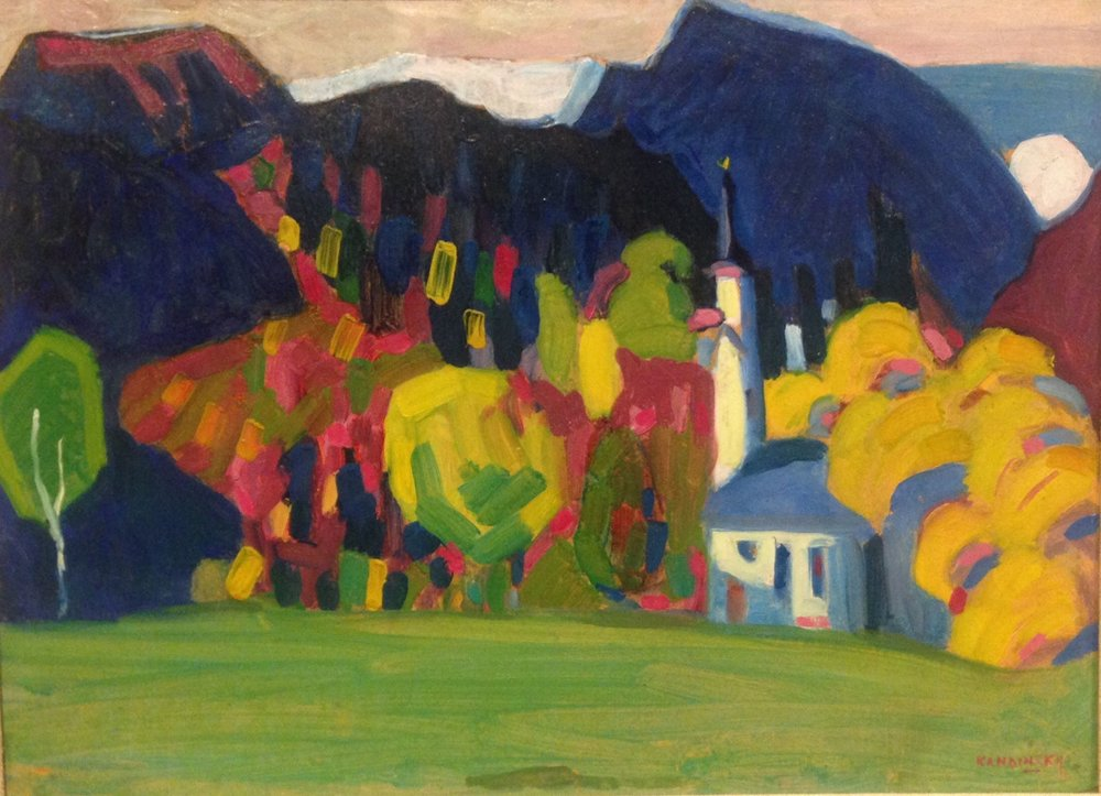 """Autumn Impression"" by Kandinsky"