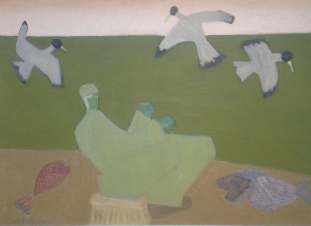 """Surf Fisherman"" by Milton Avery"