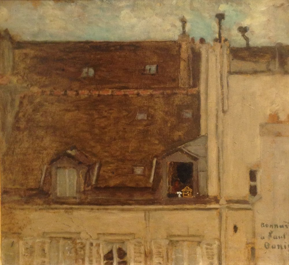 """Rooftops"" by Bonnard"
