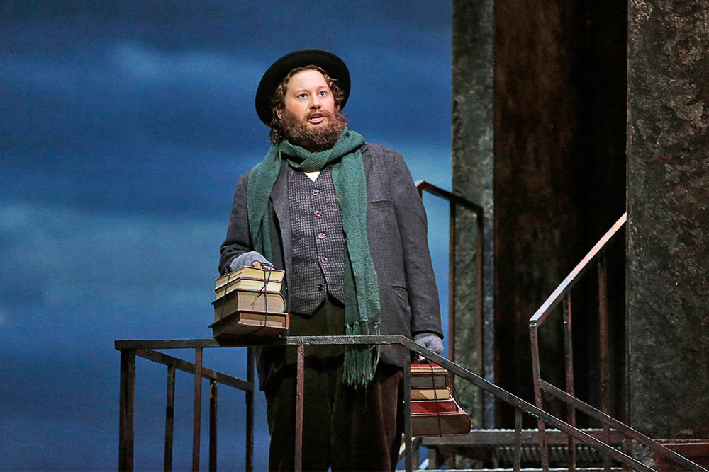 - Colline in 'La bohème' at LA Opera with Gustavo Dudamel