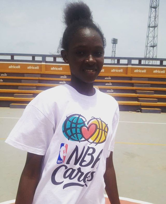 Ladies Hoop in Gambia #nolimits #dream #future #ball #love #ascendtogether