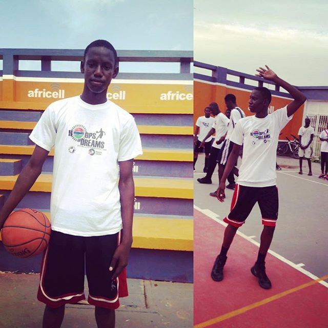 Congratulations to Ebrima S. Samba, known as E Samba, Boy's MVP of 2017 Hoops and Dreams. Ebrima attends Appletree School and trains with Ascend at Kotu Senior Secondary School's RISE Gambia site. Shine on young man. 💯💯💯#riseandshine #mvp #youngmen #ball #books #hoopdreams #gambia #africa #future #leader #growthegame #ascendtogether @seedproject 🇬🇲🏀✌🏾