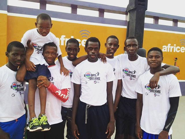 Visit www.ascendtogether.org and check out new blog post written by @wilcoxdevin about our recent Hoops and Dreams camp in partnership with @peacecorpsthegambia - we are committed to shining a light on backway migration and playing our part to sensitize youth to the dangers of this journey. Link in profile. #ascend #gambia #africa #youth #hoops #dreams #peacecorps #together