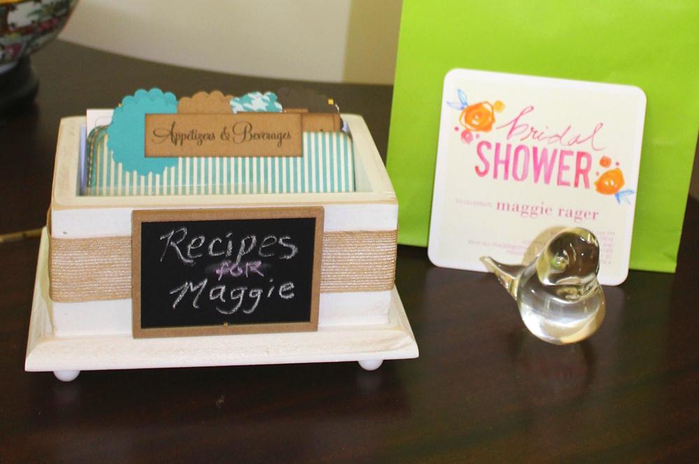 PeachyKeenDay Recipe Box | Harper + Oakley