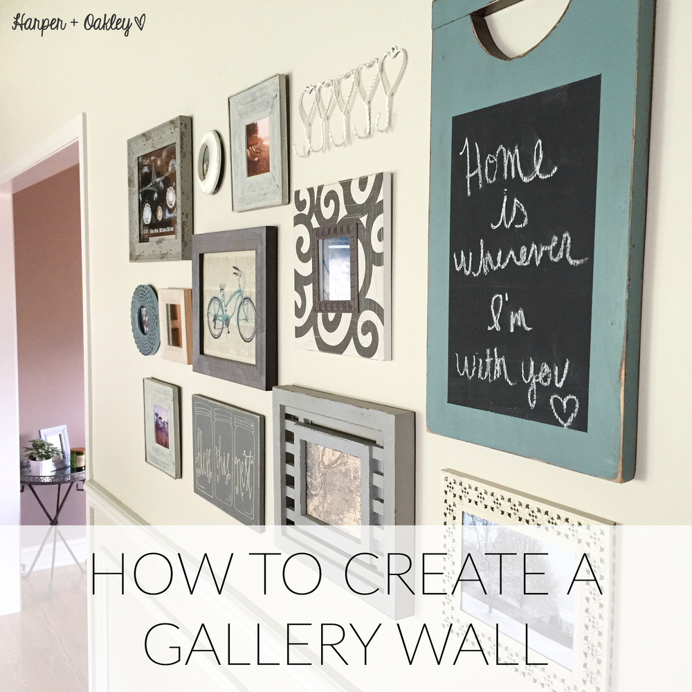 How To Create a Gallery Wall | Harper + Oakley
