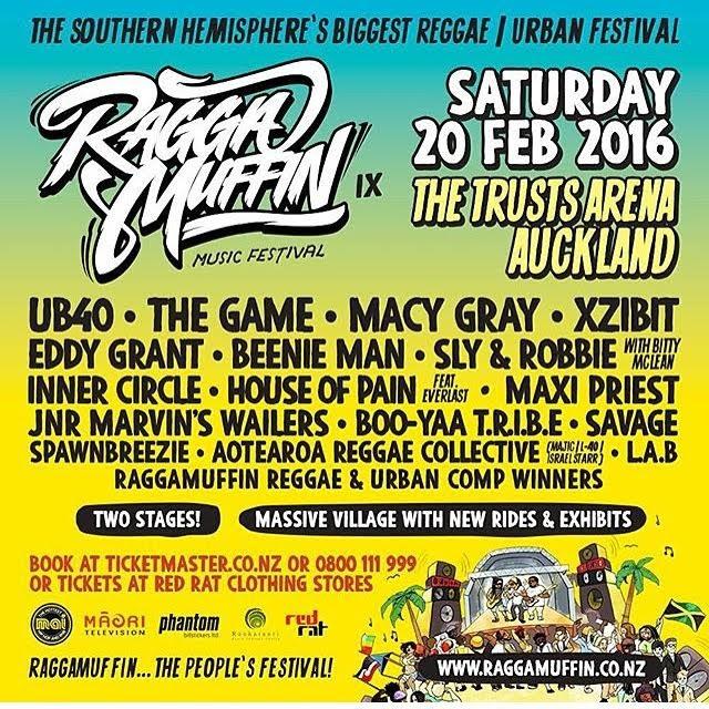Raggamuffin Music Festival February 20th, 2016 — Julian