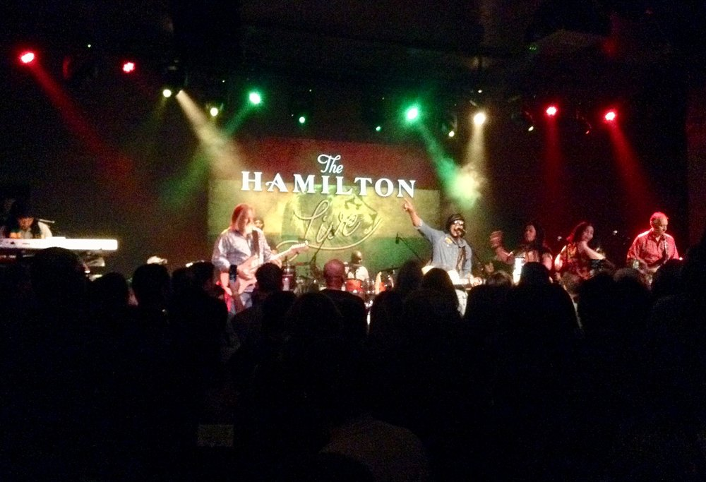 The second stop on the Message of Love tour was at The Hamilton in Washington, DC.
