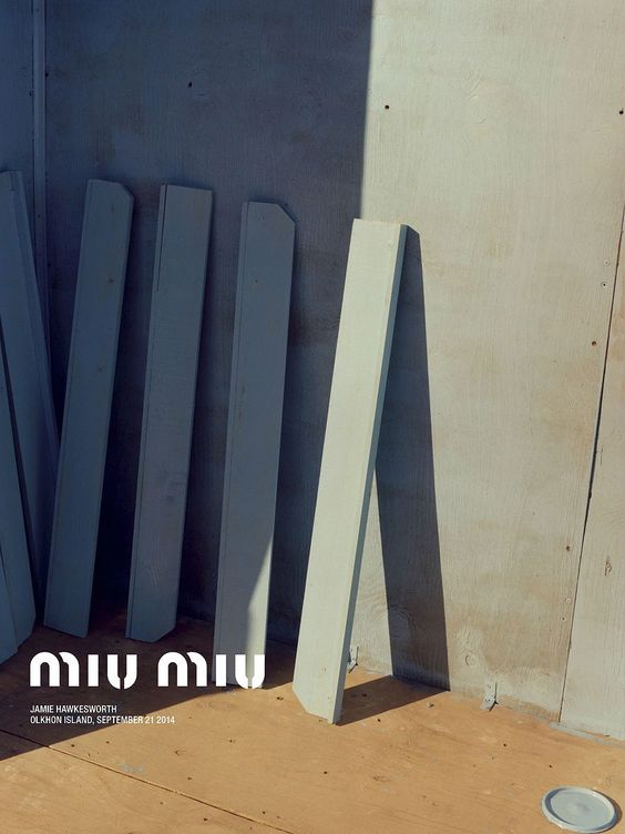 MIU MIU Resort 2015 by Jamie Hawkesworth