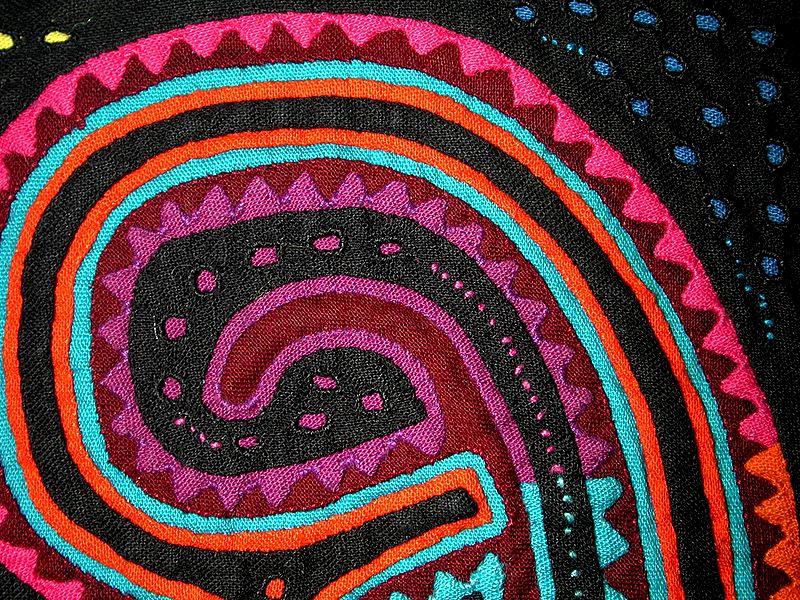 Mola close-up