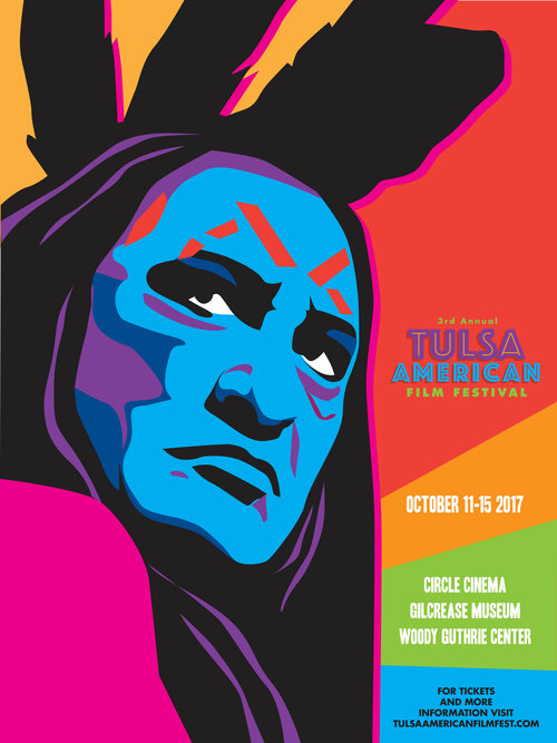 2017 Tulsa American Film Festival Poster