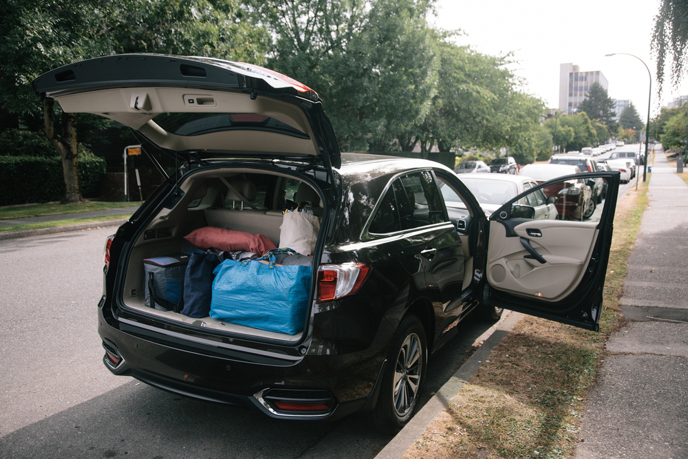 Thanks to Acura for the RDX for the drive! Fit all the camping stuff perfectly! Christine McAvoy Photography