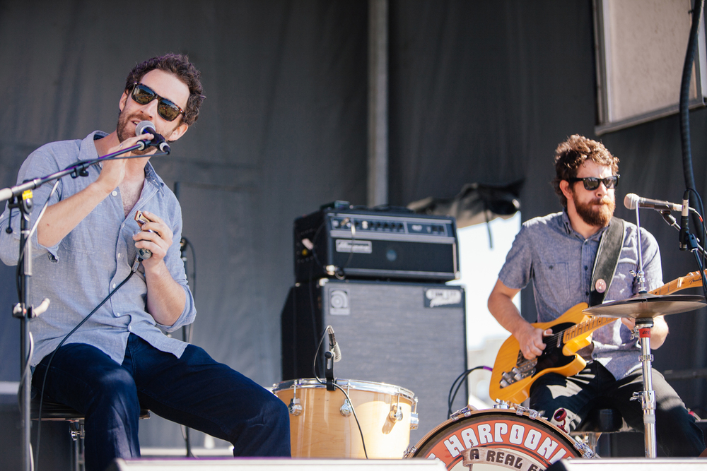 The Harpoonist & The Axe Murderer@ SHOREFEST photo by Christine McAvoy