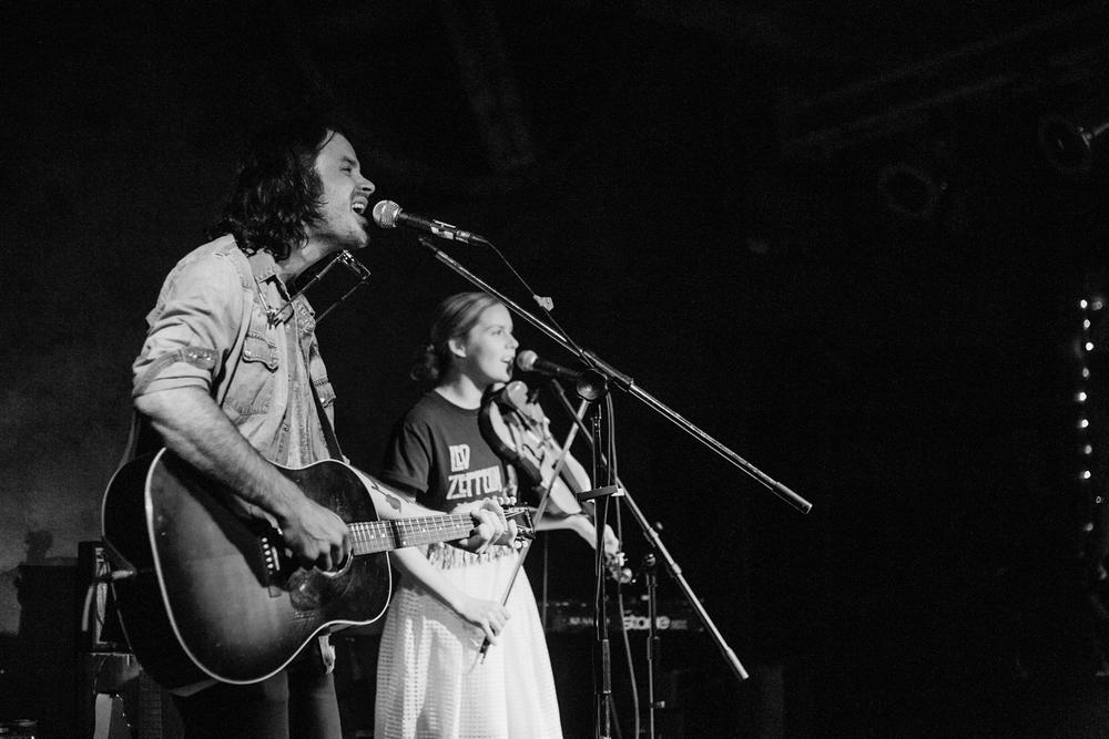 Dustin Bentall & Kendel Carson@ Ironworks Studios photo by Christine McAvoy