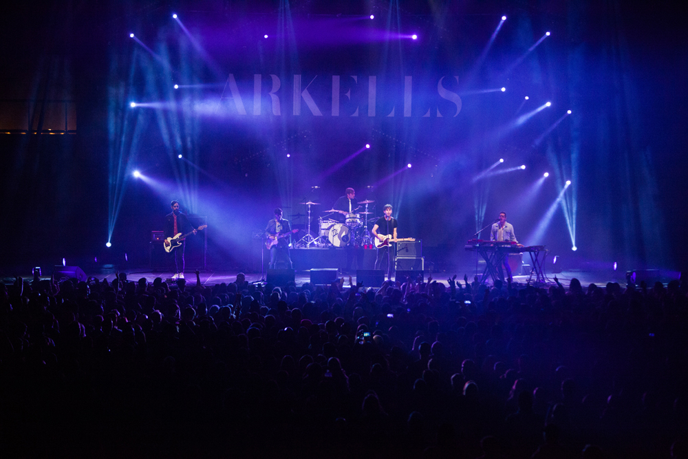Arkells @ Thunderbird Arena Christine McAvoy Photography