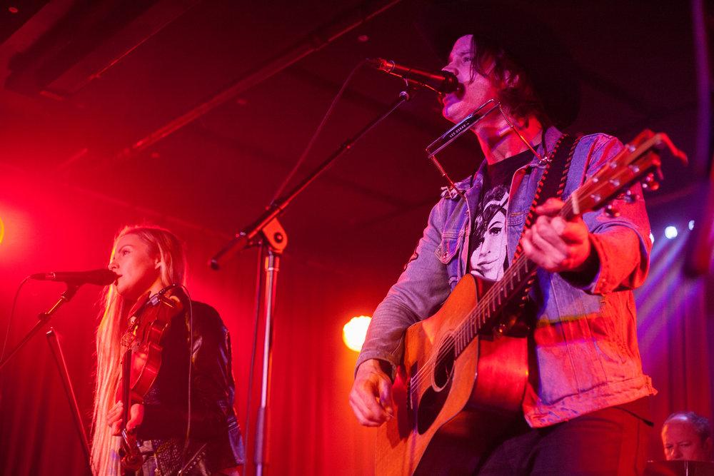 Dustin Bentall @ Cobalt Christine McAvoy Photograph