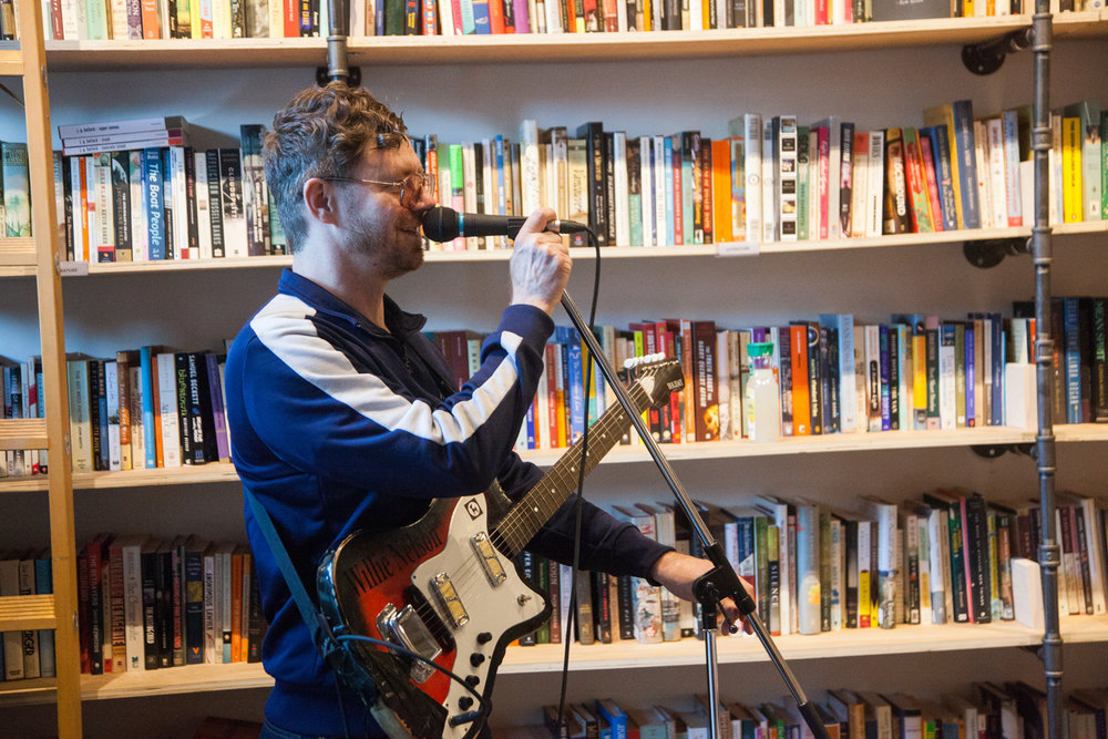 Astral Swans @ Massey Books Christine McAvoy Photography