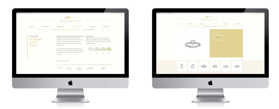 sitio web de joyeria