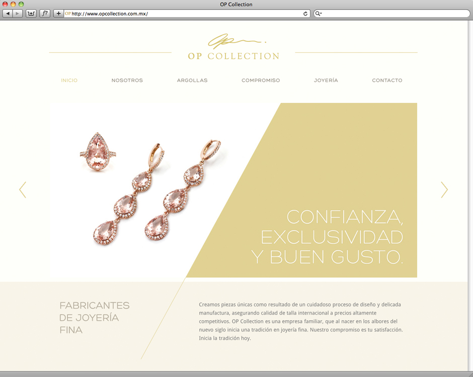 website jewelry mexico