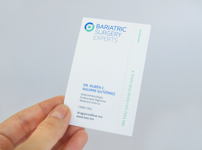 creative business cards pointed line