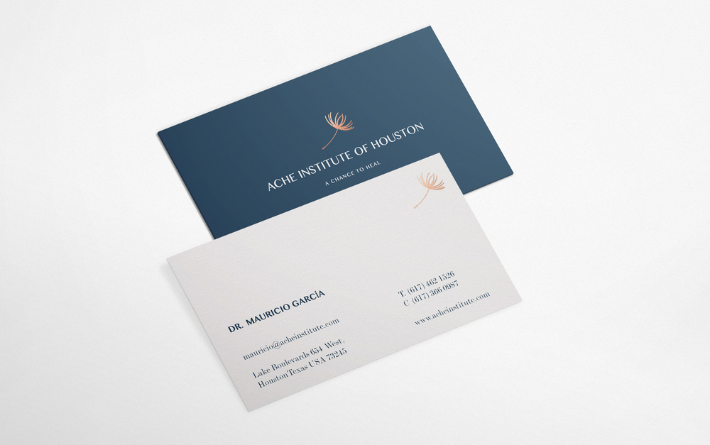 Creative Business Cards Cooper Foil