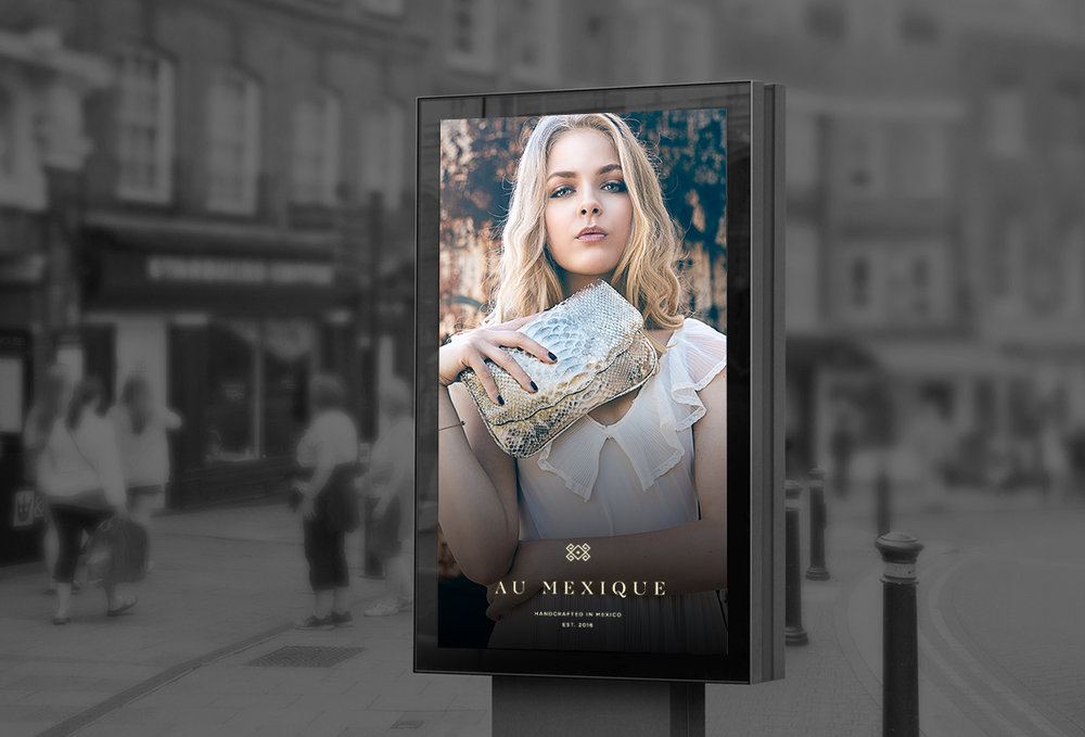 bus stop au mexique fashion poster design