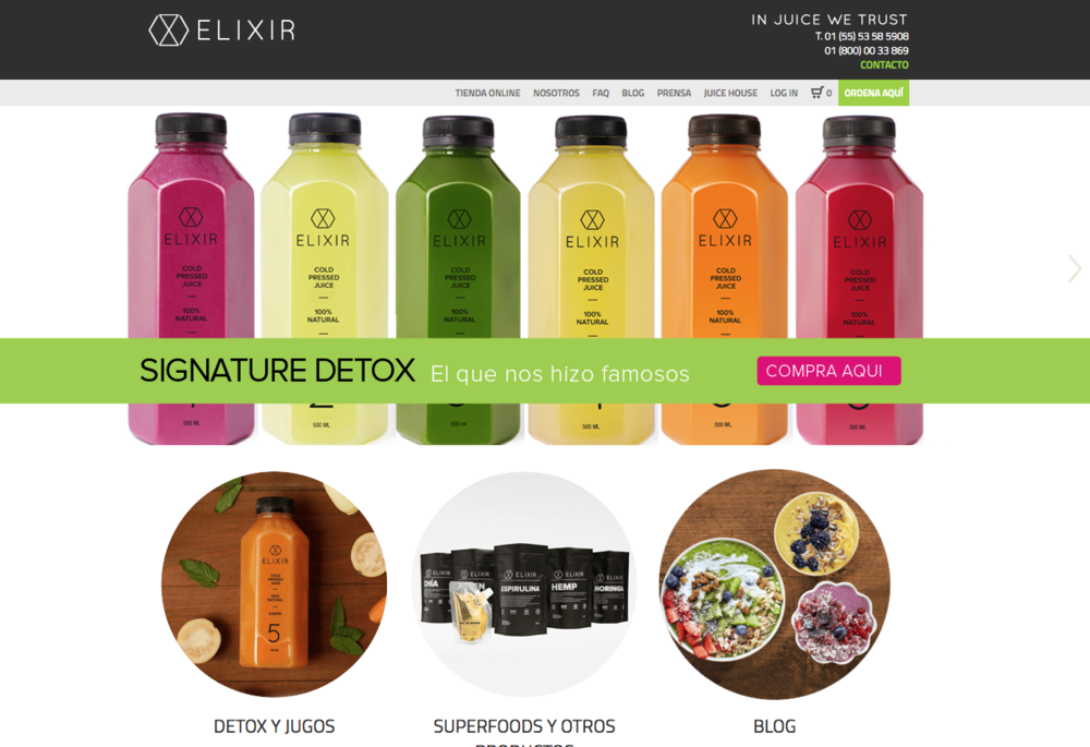ELIXIR Detox - Mexico's #1 cleanse program