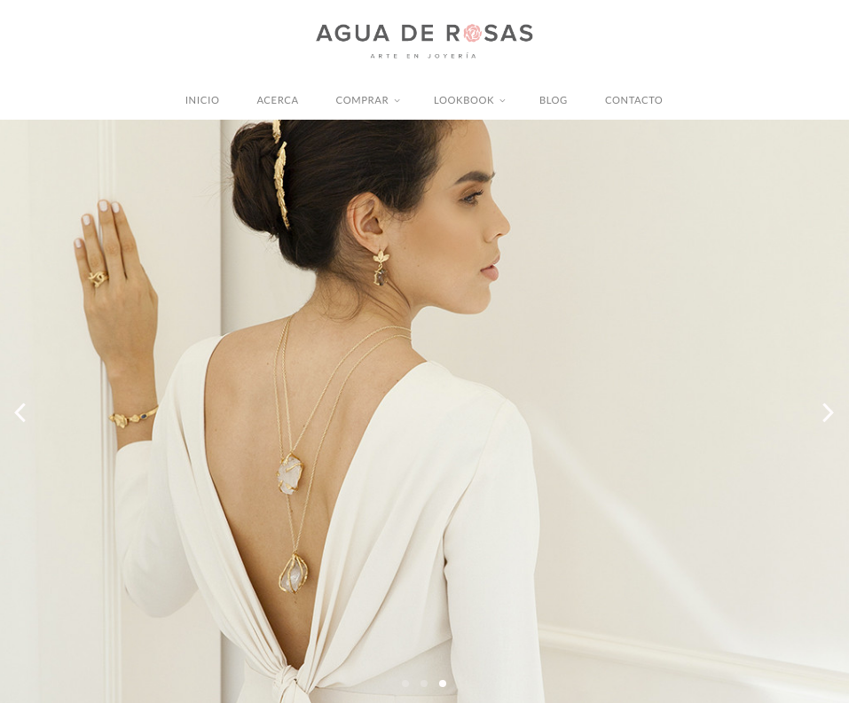 AGUA DE ROSAS - Chic jewelry brand