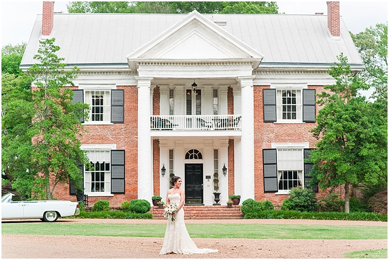 Cedar Hall Bridal Portrait - 3eight Photography