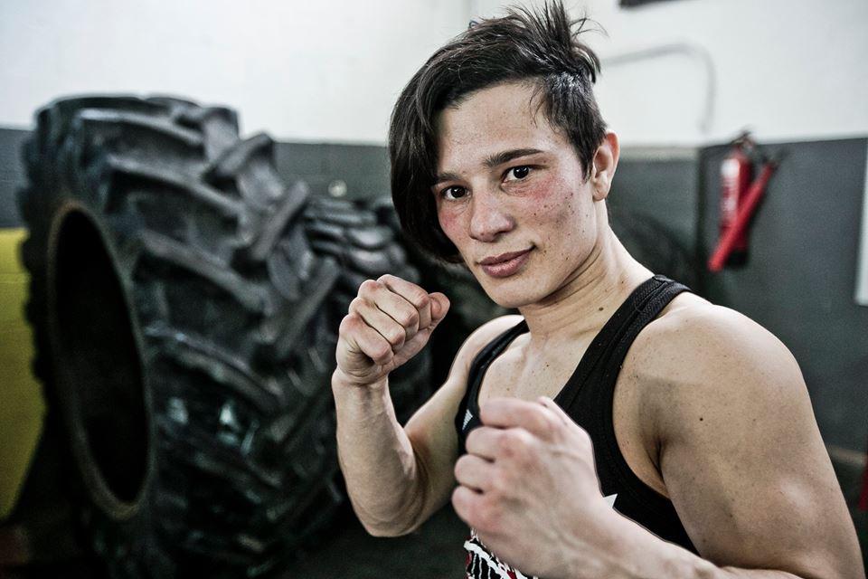 Eight-time spanish judo champion Vanessa Rico.