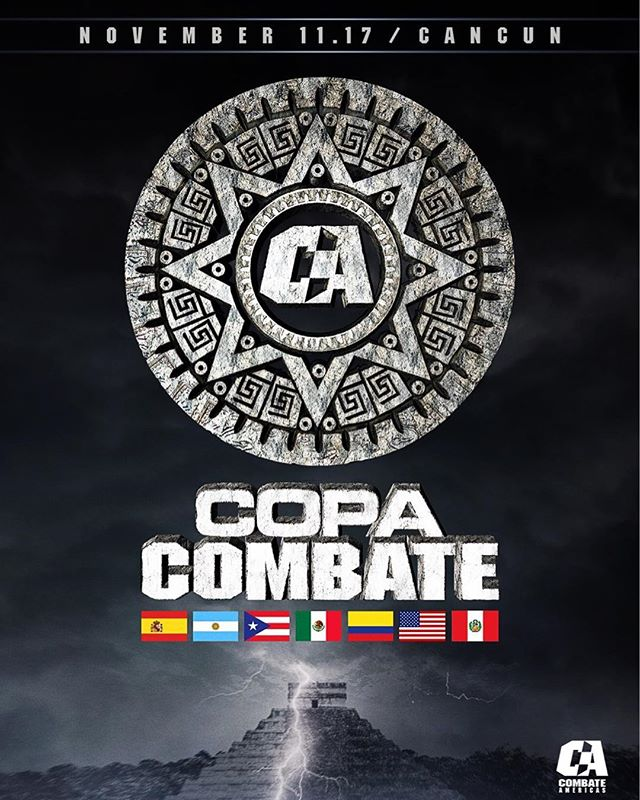 Hey, #Cancún! Are You Ready For #CopaCombate?