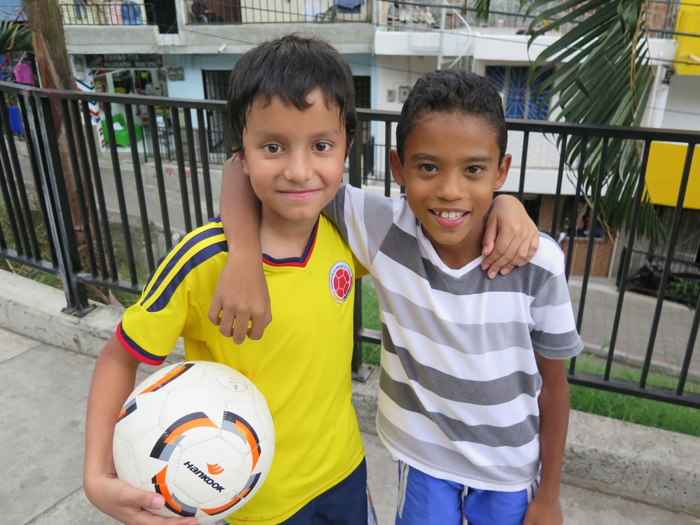 Soccer Game in Comuna 13