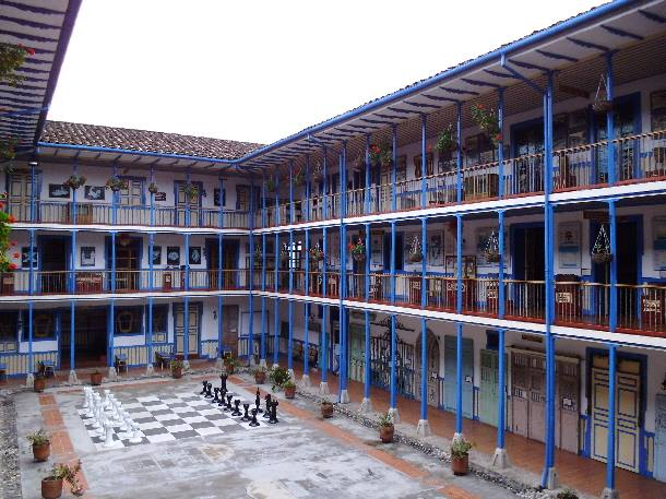Casa de la Cultura de Marsella,Photo Credit: Rutas del Paisaje Cultural Cafetero