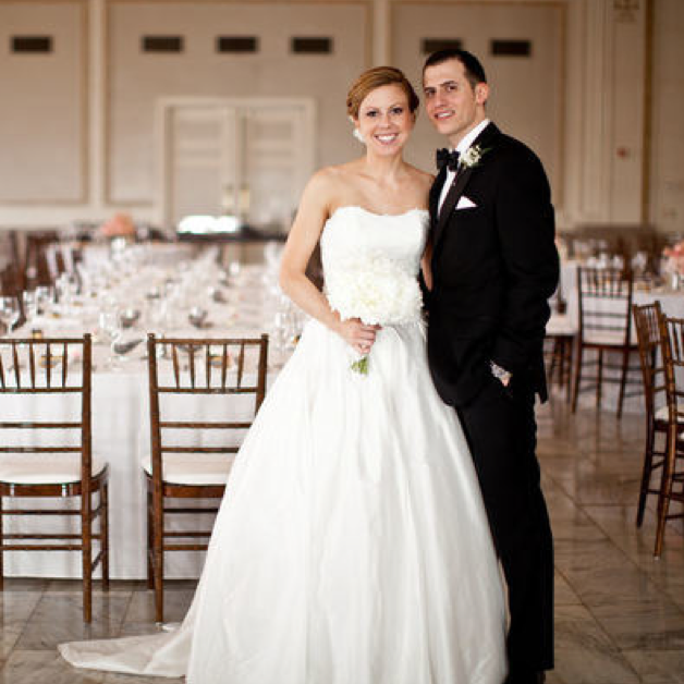 KATIE & DANA // MARRIED AUGUST 30, 2014 STYLE ME PRETTY by Ely Bros. Photography