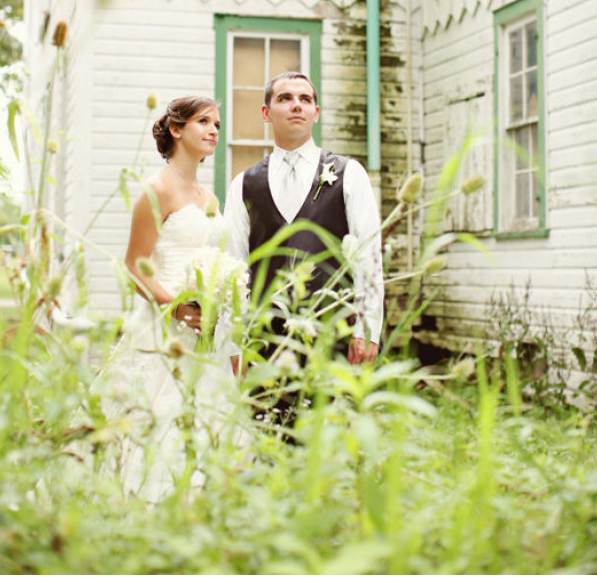 ASHLEY & ANDREW // MARRIED SUMMER 2010  STYLE ME PRETTY by C STUDIOS