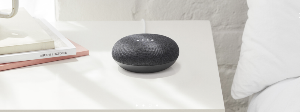 Everything You Need To Know About The Google Home Mini. - $50. Minimal design. Great reviews. What does Echo Dot have to deal with now?So you have 3 colors to choose from. Black, grey, and coral.In the box you have your Google Home Mini, a cable,some small promo cards and that's just about it since the actual setting up process happens on an app. Setting up your Google Home Mini on the Google Home app is quick and simple. You'll get asked where exactly your Google Mini would be set up in the house, and then proceed to voice recognition.Payments can be made using your Google Mini so of course putting in some payment info is needed if you plan on doing that, and from there you would set up music and video preferences. What's great about the Google Mini is how customizable it is, and how the Assistant picks up on different voices. So no one can just come in and start using your Google Mini. You can add other voices on the app, and that's pretty cool since the Assistant would then learn that persons preferences just like yours. Note that Alexa still can't do that. On the other hand, the Echo Dot is able to hook up to speakers with an aux or bluetooth. Google Mini cannot. Another downside to Google Mini is how difficult picking up the actual speaker would be since the sides of the Google Mini control volume, so moving it would be a very interesting task. Either way, both the Google Mini and Echo Dot can still make jokes, order things for you, look things up, and is pretty much all customizable. Google wins the best design in our books, but probably loses at most efficient. Let us know if you are considering buying either one this holiday!