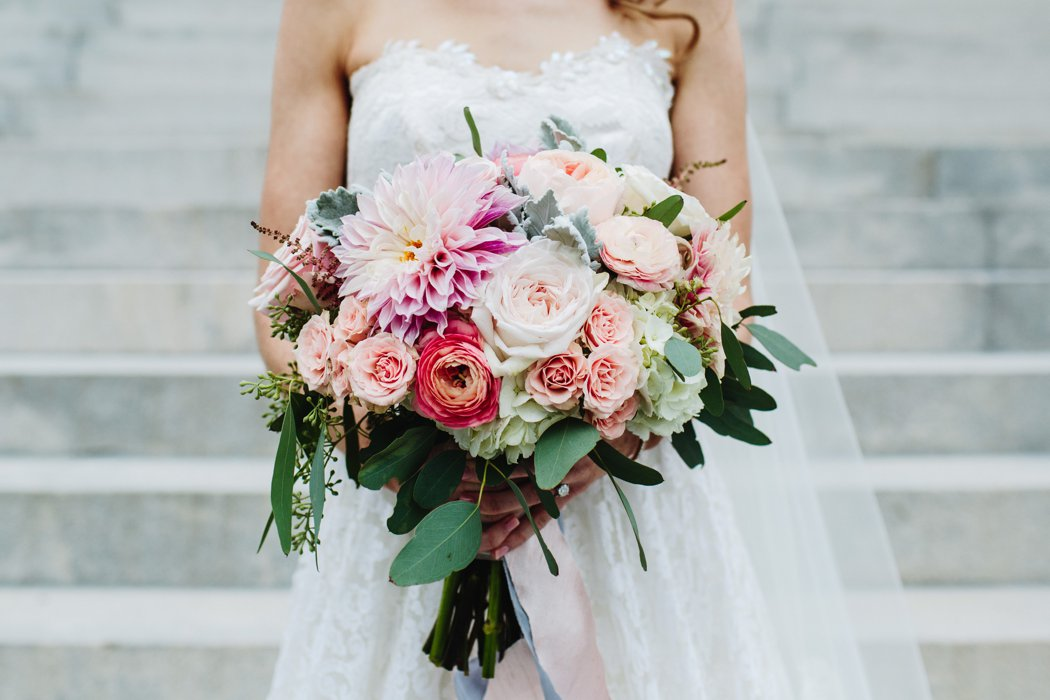 Virginia Wedding Florist Amanda Burnette Richmond VA Florist Fall Wedding Pastel Flower Garden Rose Dahlia Blush Pink White Betty Clicker Photography_0004.jpg