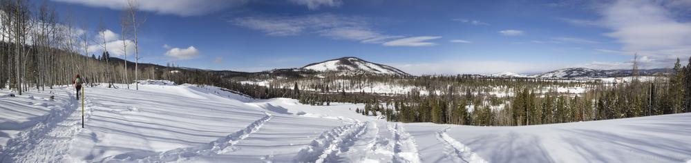 Snowshoe Panorama