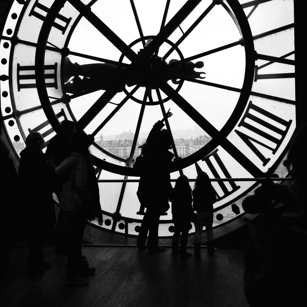 Learning to tell time backwards at the Musée d'Orsay