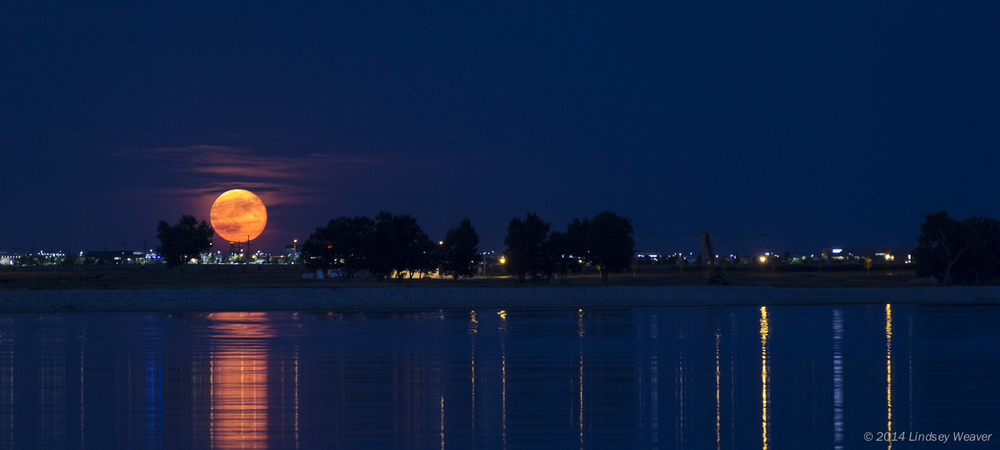 Super moon, Boyd Lake