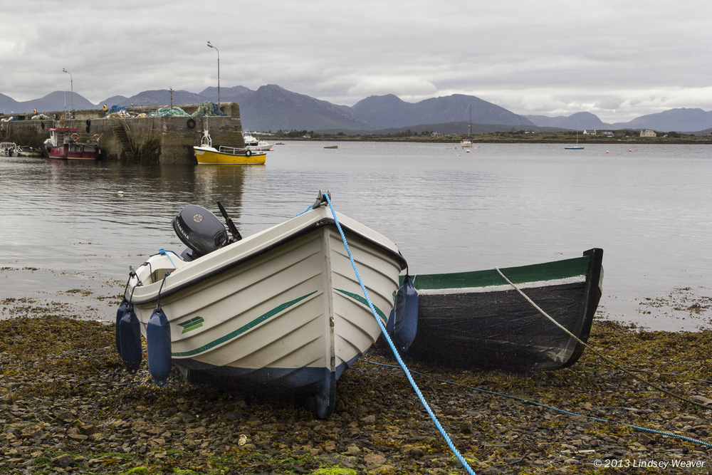Boats, Roundstone Harbour
