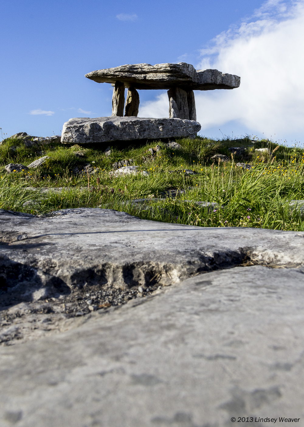 Poulnabrone dolmen I