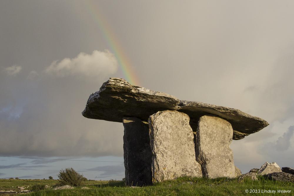 Poulnabrone dolmen III