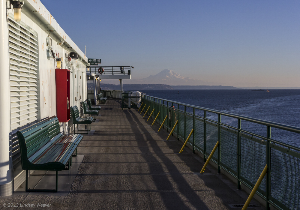 Ferry to Rainier