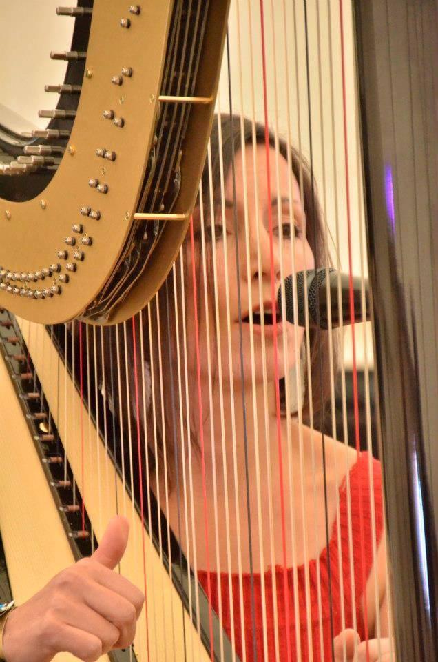 Emily Rosner Melbourne Harpist
