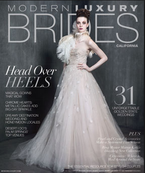 Feaured in Modern Luxury Brides | July 2015