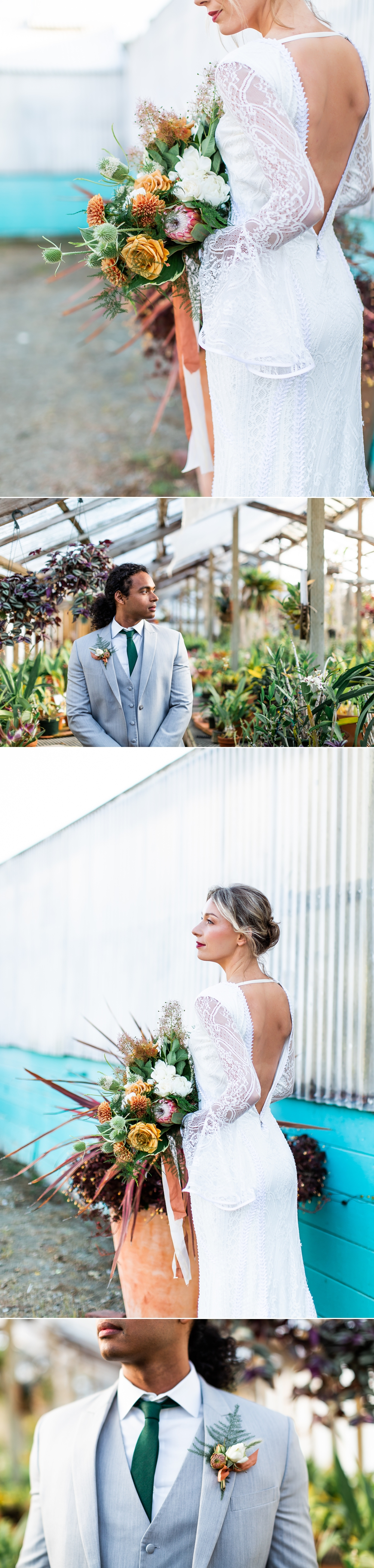 Shelldance Orchid Garden Wedding, Bewilder Floral